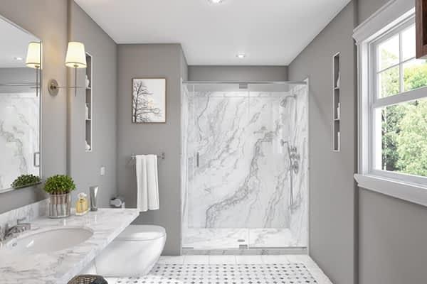 shower conversion Fenton